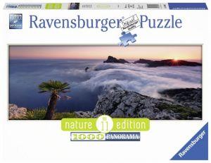 puzzle Ravensburger 1000 dílků  panorama - V moři mraků  -  150885