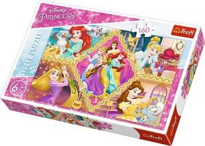 Puzzle Trefl 160 dílků - Princezny   15358