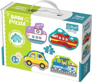 Puzzle Trefl  Baby   Dopravní prostředky     36075