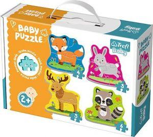 Puzzle Trefl  Baby   Lesní zvířátka   36077
