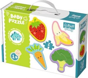 Puzzle Trefl  Baby   Ovoce a zelenina    36076