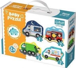 Puzzle Trefl  Baby   Profesní auta    36071