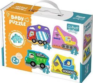 Puzzle Trefl  Baby   Stavební auta  36072