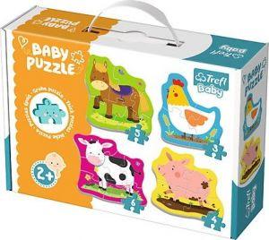 Puzzle Trefl  Baby  Vesnická zvířátka    36070