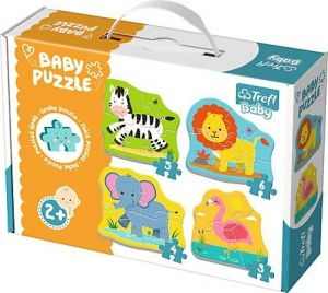 Puzzle Trefl  Baby   Zvířátka  na safari    36073