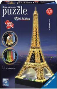Ravensburger 3D puzzle  Eiffelova věž 216 dílků - Noční edice