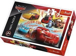 Trefl puzzle  30 dílků  - CARS - Auta  3  - 18233