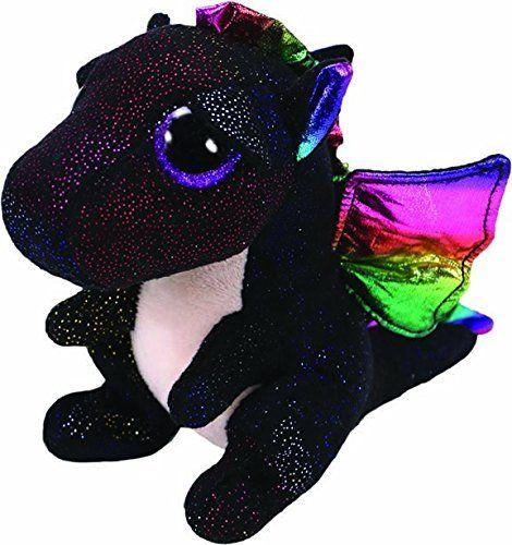 TY Beanie Boos - Anora - černý dráček 36897 - 15 cm plyšák TY Inc. ( Meteor )