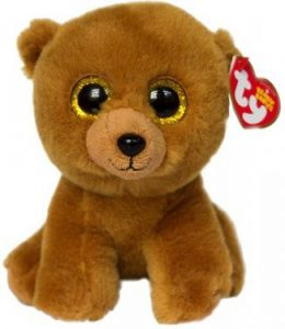 TY Beanie Babies -  Brownie  - medvídek   42109  - 15 cm plyšák