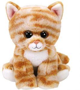 TY Beanie Boos - Cleo - zlatá mourovaná kočička   42305 - 15 cm plyšák