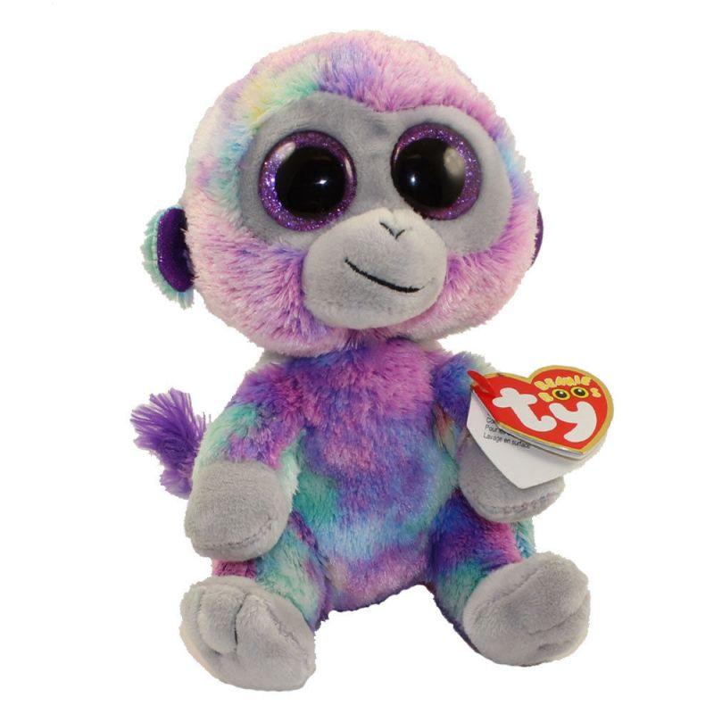 TY Beanie Boos - duhová opice Zuri 36845 - 15 cm plyšák TY Inc. ( Meteor )