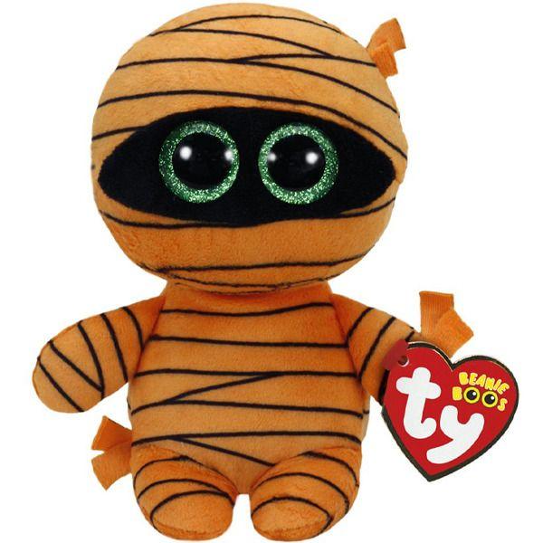 TY Beanie Boos - Mask - oranžová mumie 37241 - 15 cm plyšák TY Inc. ( Meteor )