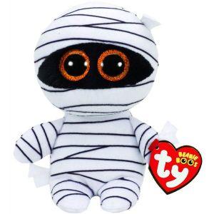 TY Beanie Boos - Mummy - bílá mumie     37234  - 15 cm plyšák