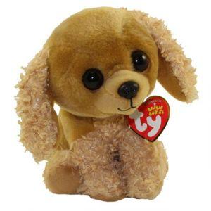 TY Beanie Babies  -  Saddie  - pejsek   42249  - 15 cm plyšák