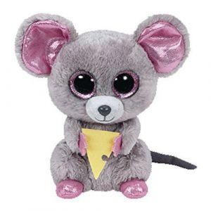 TY Beanie Boos - Squeaker - myška  36192  - 15 cm plyšák