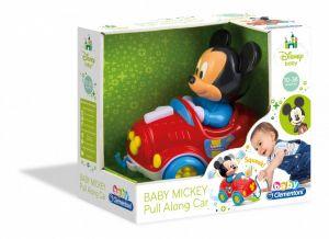 Clementoni - autíčko na tahání + Mickey 17208