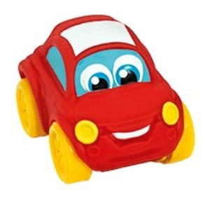Clementoni Baby - měkoučké autíčko - červené auto