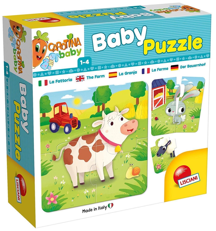 Lisciani baby - farma - puzzle 8 x 4 dílky 65424 Lisciangiochi