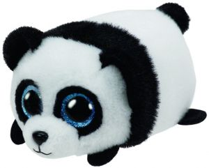 Plyšák TY - Teeny Ty´s - černobílá panda Puck   10 cm