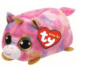 Plyšák TY - Teeny Ty´s - duhový jednorožec Star    10 cm