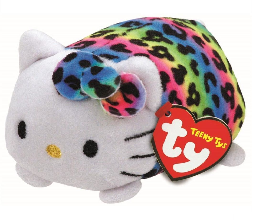 Plyšák TY - Teeny Ty´s - Hello Kitty multicolor 10 cm TY Inc. ( Meteor )
