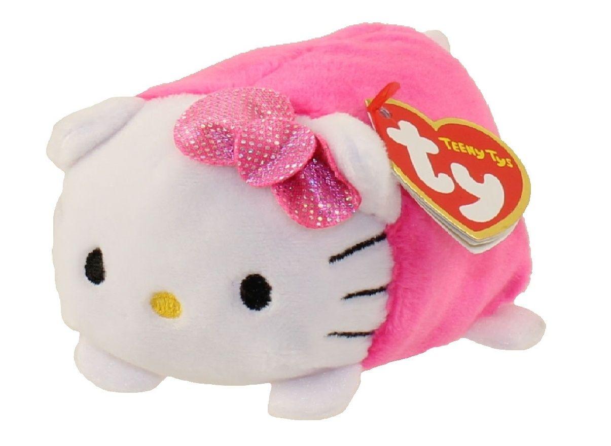 Plyšák TY - Teeny Ty´s - Hello Kitty růžová 10 cm TY Inc. ( Meteor )