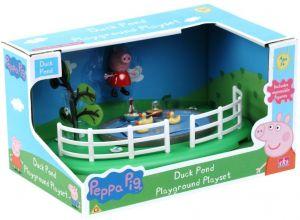 Prasátko peppa hřiště - rybníček s kačenkami TM Toys