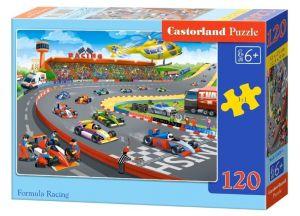 Puzzle Castorland 120 dílků - Formula racing  13470