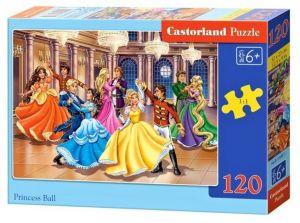 Puzzle Castorland 120 dílků - Princezny na plese 13449