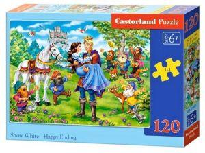 Puzzle Castorland 120 dílků - Sněhurka 13463