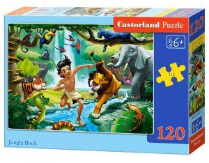 Puzzle Castorland 120 dílků - V džungli   13487