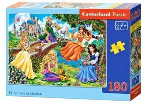 Puzzle Castorland 180 dílků - Princezny v zahradě 018383