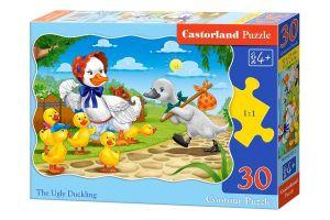 Puzzle Castorland  30 dílků - Ošklivé káčátko     03723