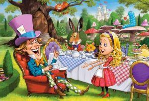 Puzzle Castorland 40 dílků MAXI - Alenka v říši divů 040292