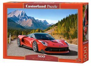 Puzzle Castorland 500 dílků -  auto v horách    52967