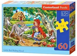 Puzzle Castorland 60 dílků - Červená karkulka    066117