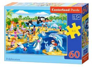 Puzzle Castorland 60 dílků - Delfinárium   066148