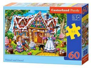 Puzzle Castorland 60 dílků - Jeníček a Mařenka    066094
