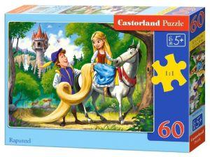 Puzzle Castorland 60 dílků - Na vlásku   066124