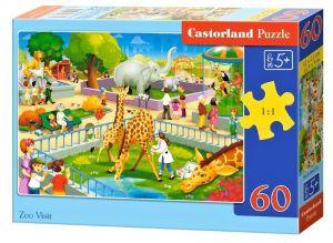 Puzzle Castorland 60 dílků - Návštěva ZOO   066155
