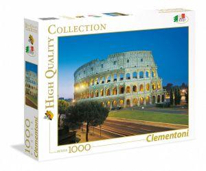 Puzzle Clementoni 1000 dílků Řím - Colosseum 39457