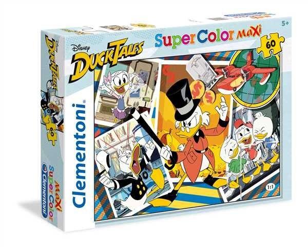 Puzzle Clementoni 60 dílků MAXI - kačer Donald 26432