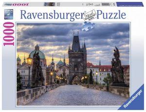 puzzle Ravensburger 1000 dílků - Karlův most -  197385