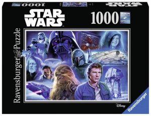 Puzzle Ravensburger 1000 dílků - Star Wars - koláž 2  197644