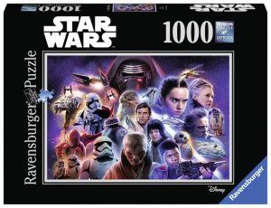Puzzle Ravensburger 1000 dílků - Star Wars - koláž 4  197750