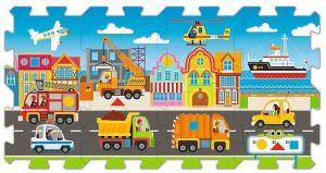 Trefl - Pěnové puzzle - koberec - doprava 60754