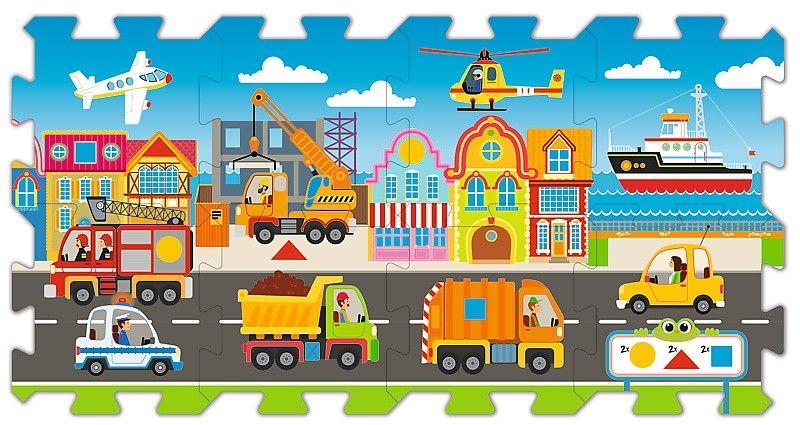 Trefl - Pěnové puzzle - koberec - doprava