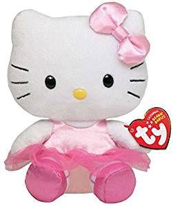 TY Beanie Babies - Hello Kitty - balerína 40888 - 15 cm plyšák TY Inc. ( Meteor )