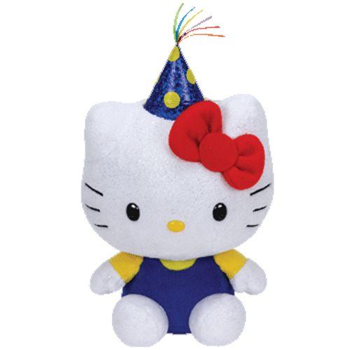 TY Beanie Babies - Hello Kitty - oslavenec 41137 - 15 cm plyšák TY Inc. ( Meteor )