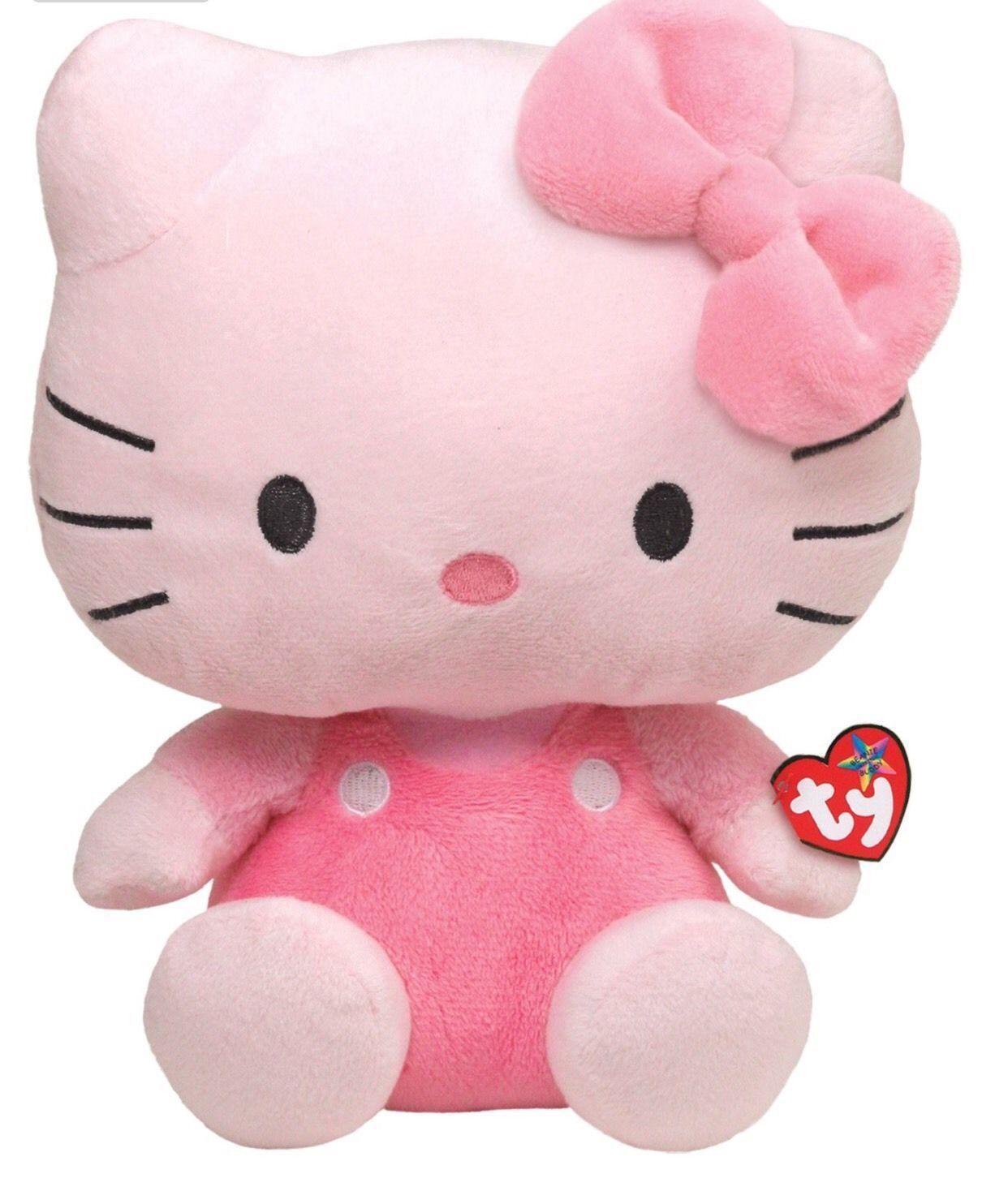 TY Beanie Babies - Hello Kitty - růžová 90116 - 25 cm plyšák TY Inc. ( Meteor )